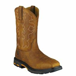 """Ariat 10006959 Workhog Safety Toe 11"""" Pull On EH Rated Weste"""