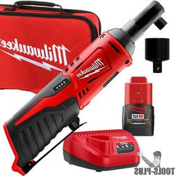"Milwaukee 2457-21p M12 Cordless 3/8"" Lithium-ion Ratchet Kit"