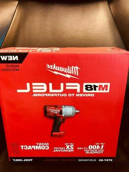 "Milwaukee 2767-20 M18 FUEL 1/2"" High Torque Impact Wrench w/"