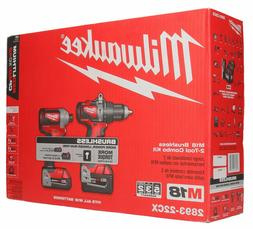 Milwaukee 2893-22CX M18 Brushless Hammer Drill/Impact Combo