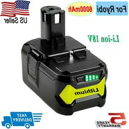 2X P102 For 18V Max Lithium Battery Ryobi ONE Plus P103 P104