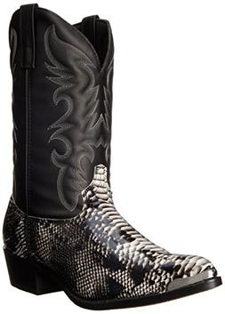 Laredo Men's 68067 Monty Western Boot,Black / White,8.5 XW U