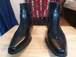 Alberto Fellini Western Style Boots New Upgrade PU-Leather C