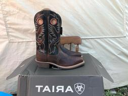 ARIAT ATS PRO MENS HERITAGE ROUGHSTOCK COWBOY BOOTS SIZE 10.