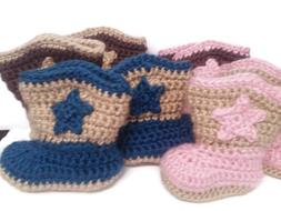 Baby Cowboy Baby Cowgirl  Booties Infant Boots Infant Bootie