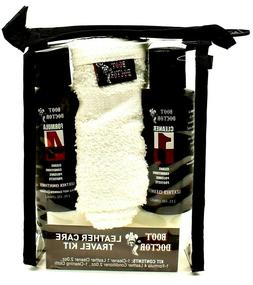 Boot Doctor Leather Care Travel Kit - Formula 1 Cleaner + Fo