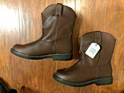 Boy's Western Cowboy Style Boots Size 4
