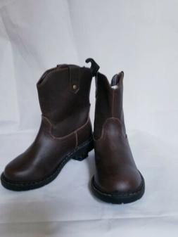 Boys/' Wonder Nation Pull On Boots Kids Shoes Cowboy Toddler Size 1