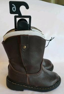 Brand New Garanimals CowBoy Boots Western Faux Leather 2 Inf