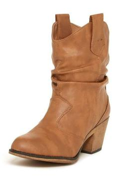Charles Albert Women's Modern Western Cowboy Distressed Boot