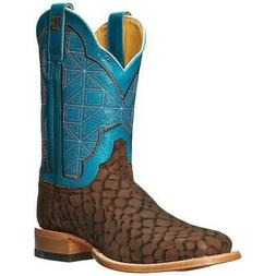 Cinch Western Boots Mens Edge Brown Puzzle Cowboy Brown CEM5