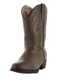1bc374dce Country Love Little Rancher Kids Cowboy Boots K101-1001, Bro