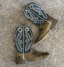 Ariat Cowboy Western Boots Mens Size 10
