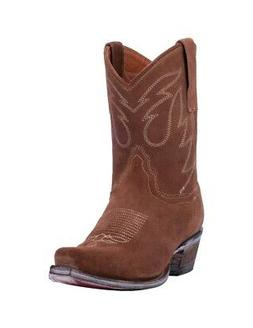 "Dan Post Western Boots Womens Standing Room Only 8"" Brown DP"