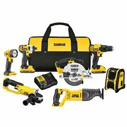 Dewalt DCK720D2 20V Max 7 Tool Cordless Combo Kit Set - All