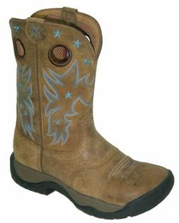 Twisted X Womens Bomber Leather 9in K Toe All Around Cowboy