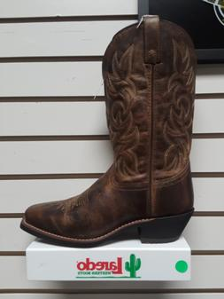 """Laredo Dust 68354, Brown Leather 12"""" Cowboy Boot"""