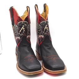 Cinch Edge Men's Western Boot 11EE Race Ready Cars Hot Rod W