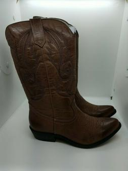 Coconuts By Matisse Gaucho Western Boots Womens Size 7M Brow