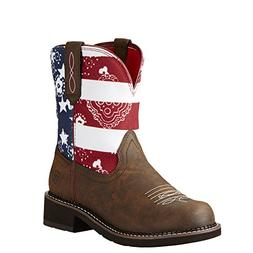 Ariat Womens Heritage Fatbaby 6.5 B Toasted Brown Glory