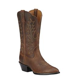 Ariat Western Boots Womens Cowboy Heritage Dist Brown 100010