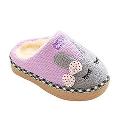 Indoor cotton slippers,G-real Toddler Baby Boys Girls New Cu