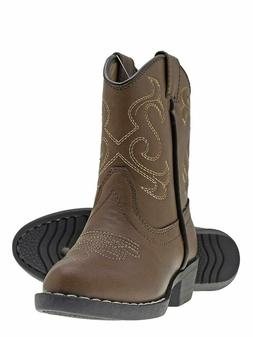 Canyon Trails Kids Lil Cowboy Pointed Toe Classic Western Ro