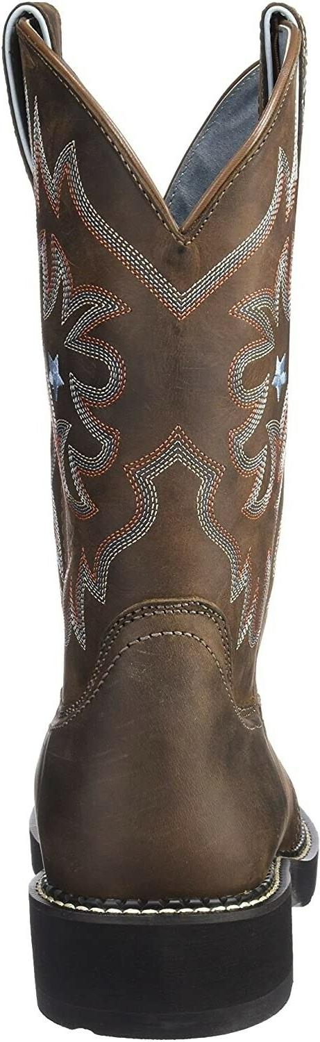 Ariat 185454 Womens Leather Brown Size 9.5
