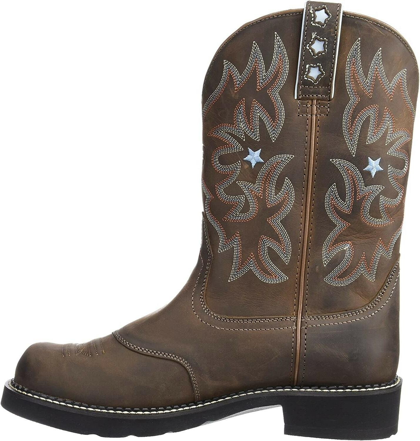 Leather Western Brown 9.5