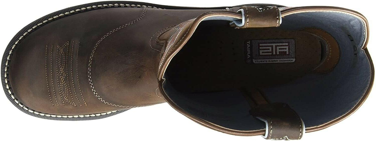 Ariat Womens Leather Cowboy Brown