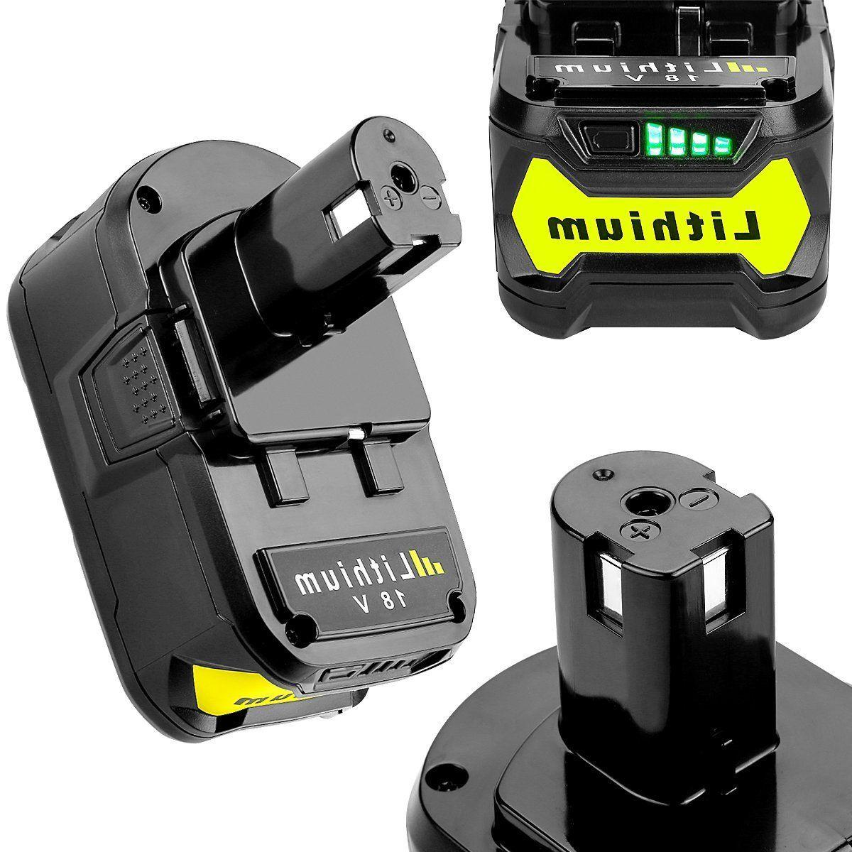 2x For 18V One+ Lithium High Battery P102