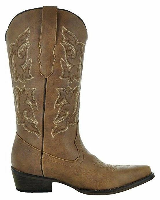 Country Love Pointed Toe Women's Cowboy
