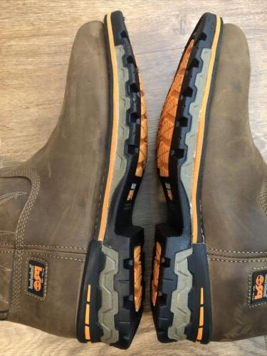 Timberland Square Alloy Workboot Brown NWOB