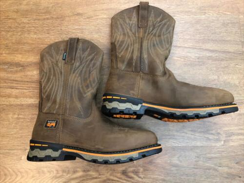 ag boss square alloy toe cowboy workboot