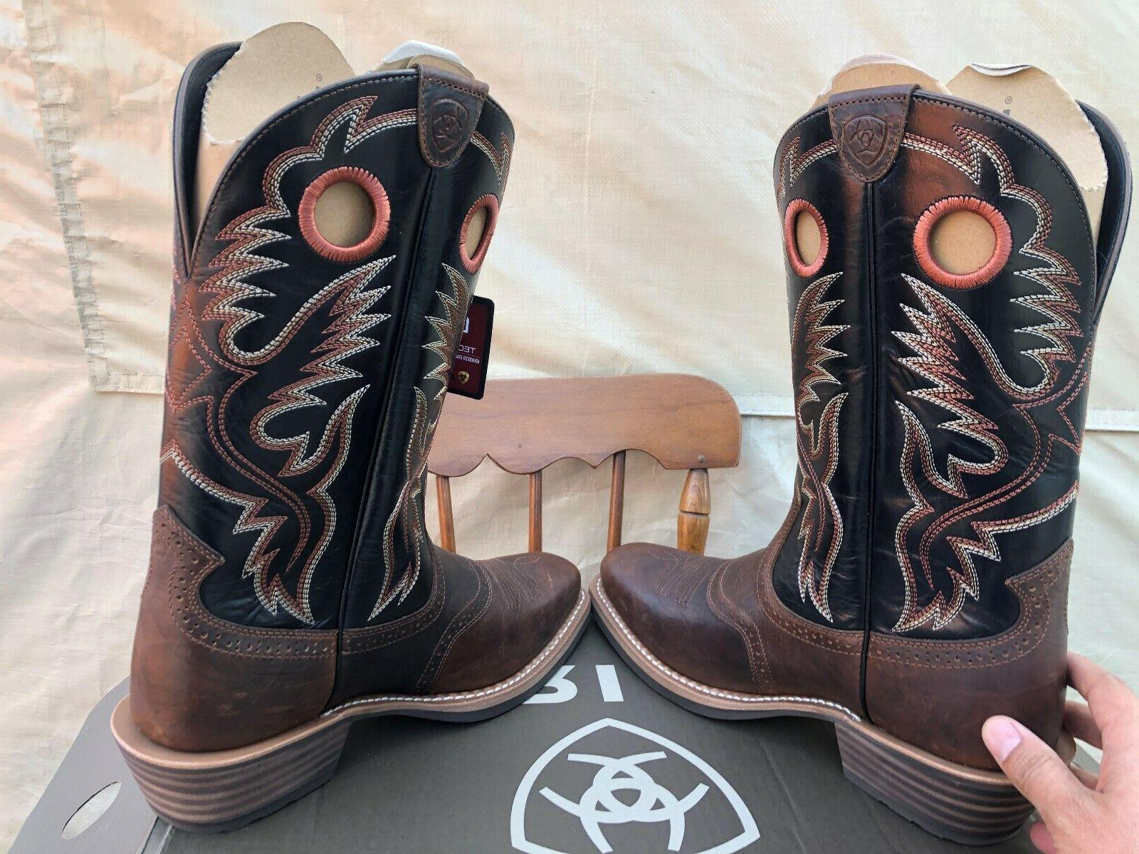 ARIAT MENS HERITAGE BOOTS SIZE 10.5