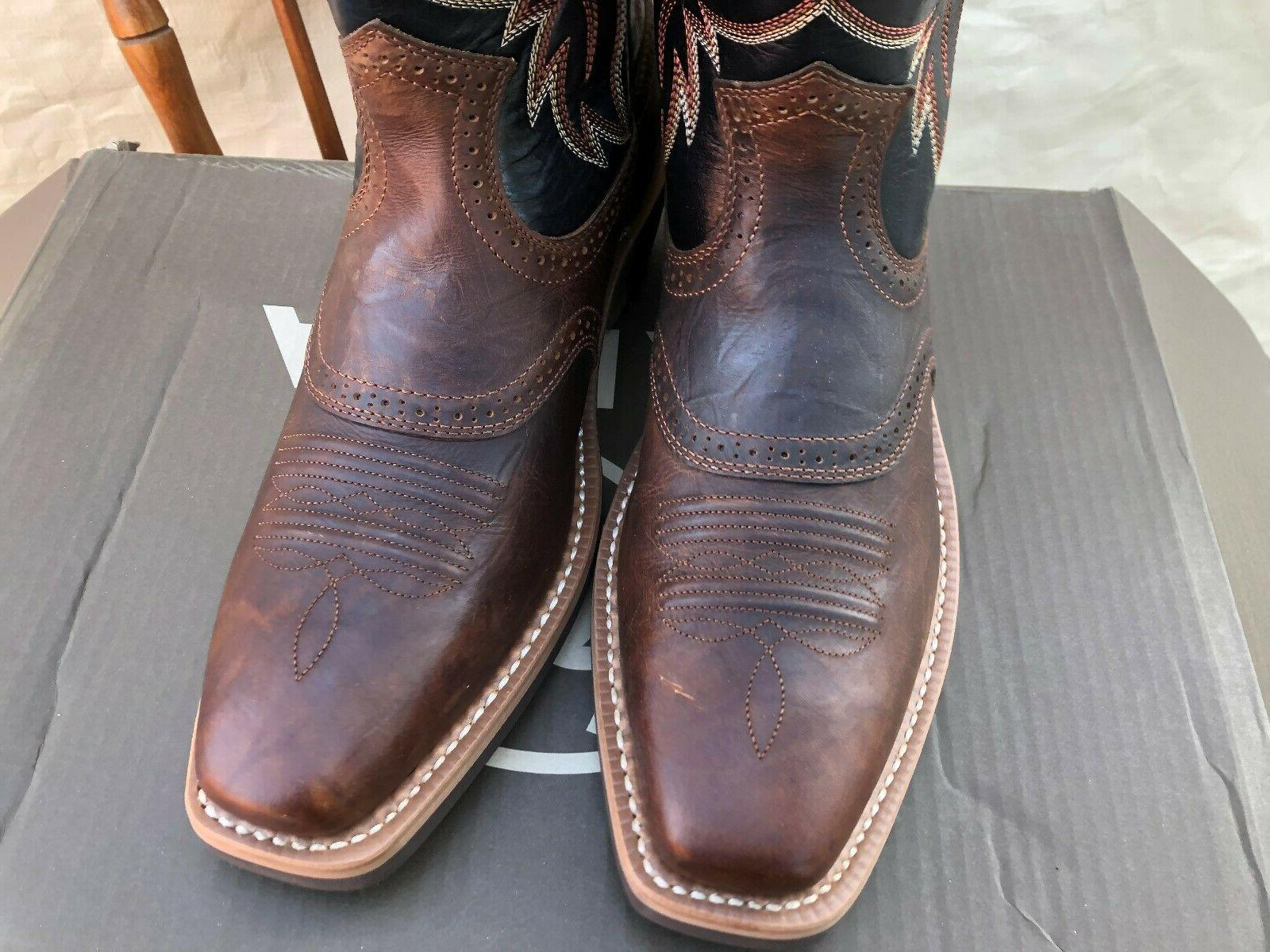ARIAT PRO HERITAGE ROUGHSTOCK BOOTS SIZE SQUARE
