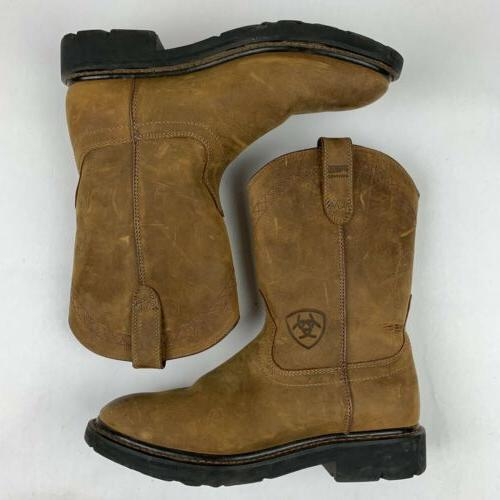 Ariat ATS 8 D Brown Leather
