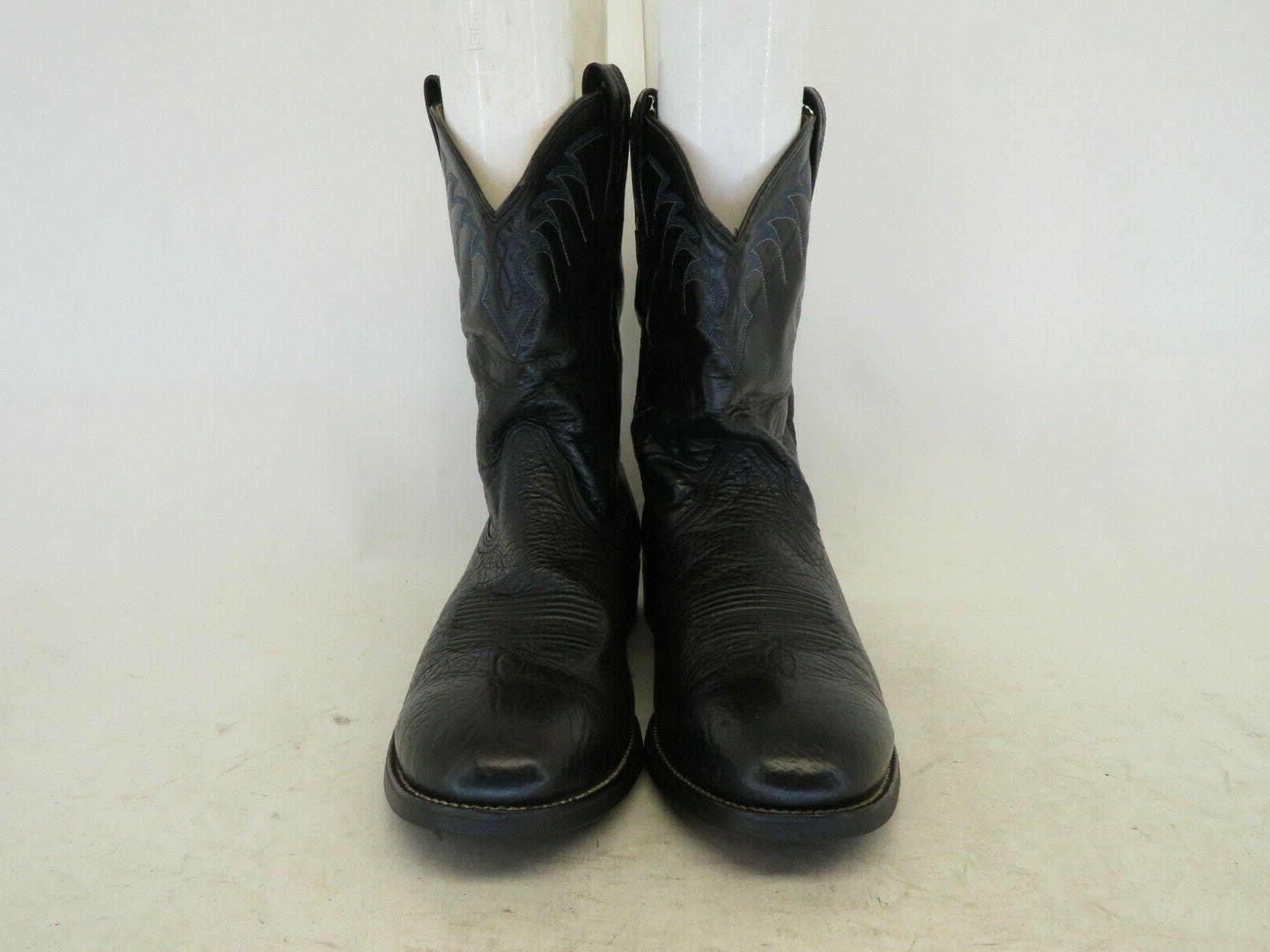 Ariat Leather Cowboy Western Boots Size EE