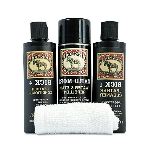 Bickmore Kit - Bick & Protector - for Cleaning Boots Shoes Purses Jackets