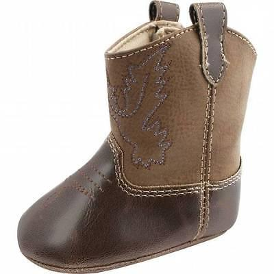Baby Deer Brown Western Boots  Baby Size 1 2 3