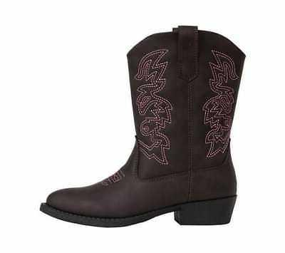 Children's Deer Western Boot Simulated