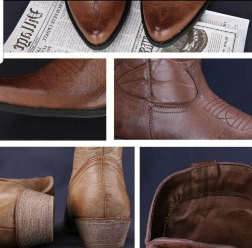 Classic for Pointy Toe Leather Cowgirl Size