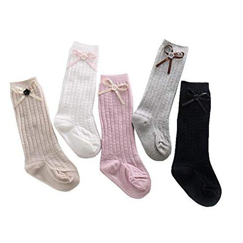 clearance 5colors 5pairs knee high cable knit