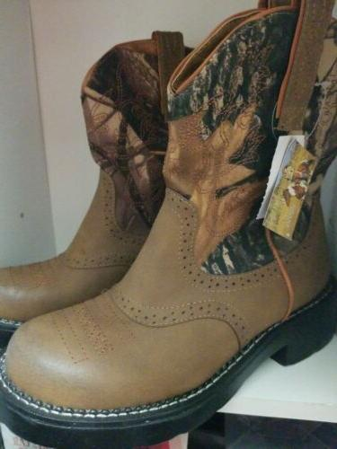 Cowboy Boots Womens 6/5 color brown