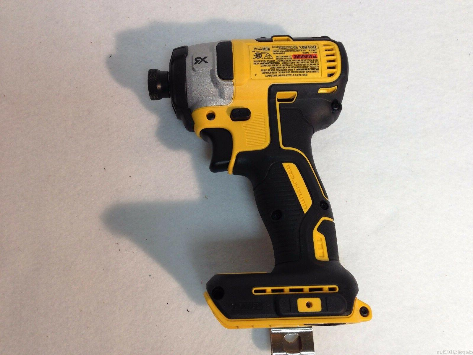 Dewalt 20V XR Brushless Li-Ion Hammerdrill &
