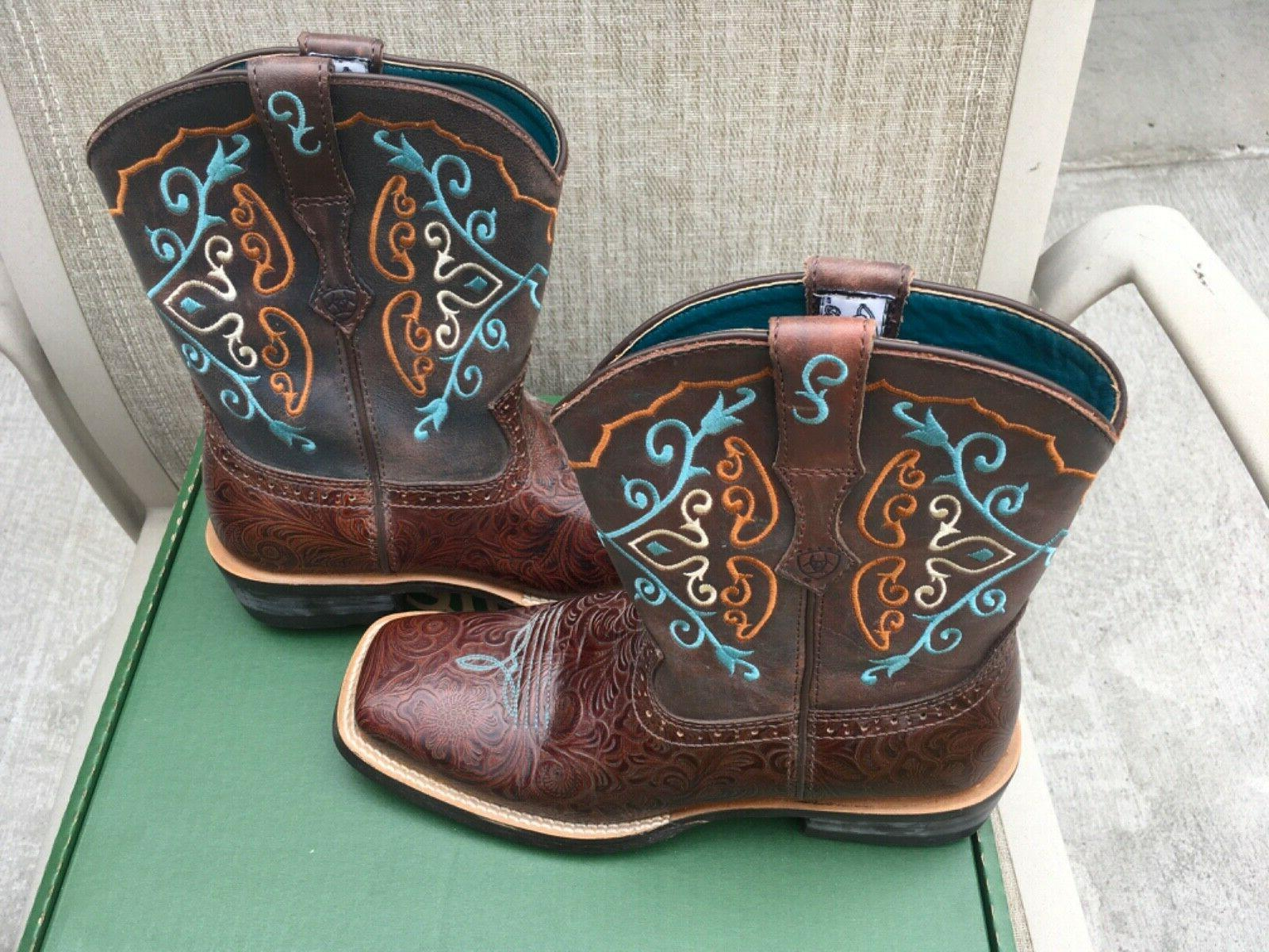 """Ariat """"Fatboy"""" Boots New Condition"""