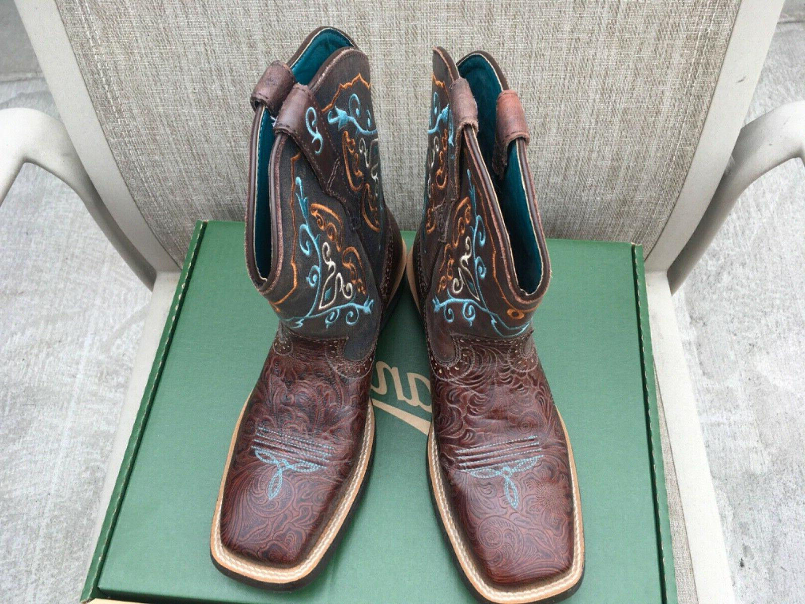 """Ariat """"Fatboy"""" Leather Boots"""