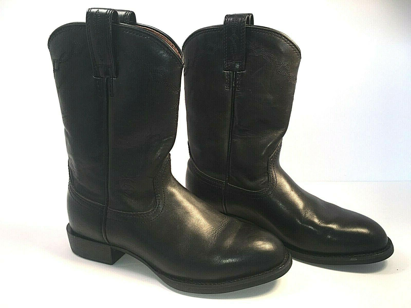 ARIAT Leather Boots Womens US Size 6C