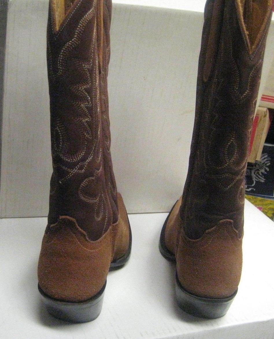 Star Boots Ladies Tan Brown Western Boots