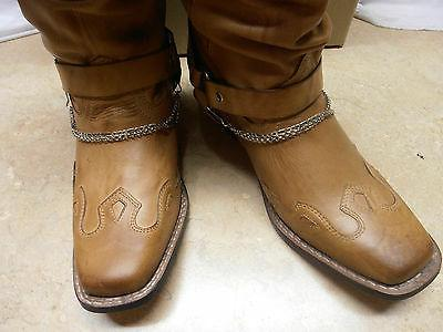 Ladies Harness Motorcycle Boots 7 8 11